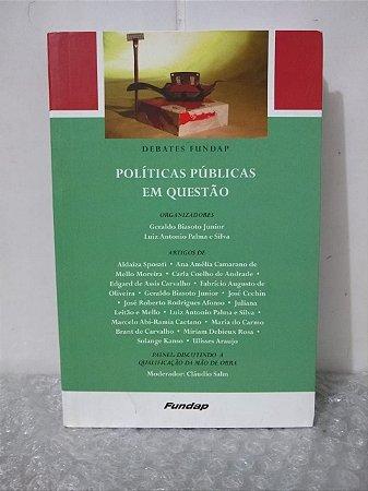Políticas Públicas em Questão - Geraldo Biasoto Junior e Luiz Antonio Palma e Silva (orgs.)