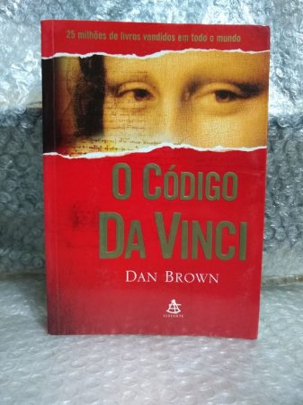 O Código Da Vinci - Dan Brown (marcas e desgastes)