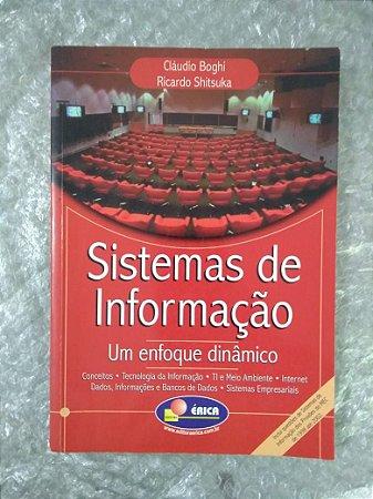 Sistemas de Informações - Cláudio Boghi e Ricardi Shitsuka