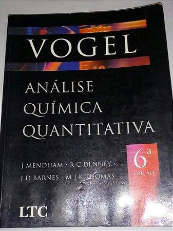 Vogel - análise Química Quantitativa