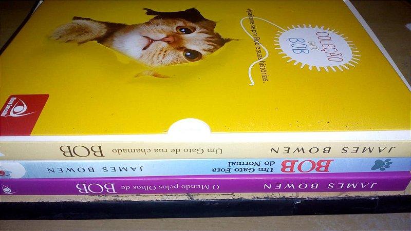 Coleção Trilogia Box Gato Bob - James Bowen