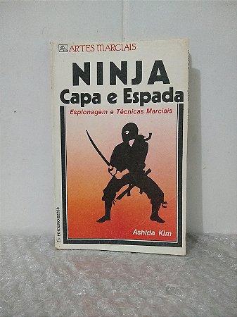 Ninja Capa e Espada - Ashida Kim