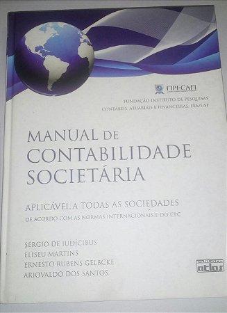 Manual de contabilidade societária - Sérgio de Iudícibus