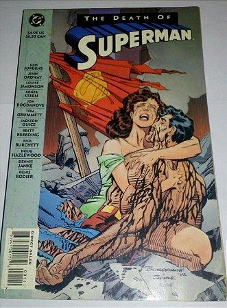 The Death of Superman - DC mportado