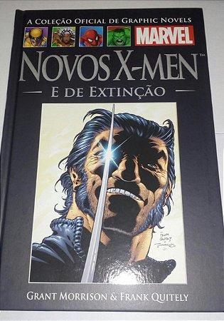 Novos X-Men e de Extinção -  Graphic Novels 23 Marvel