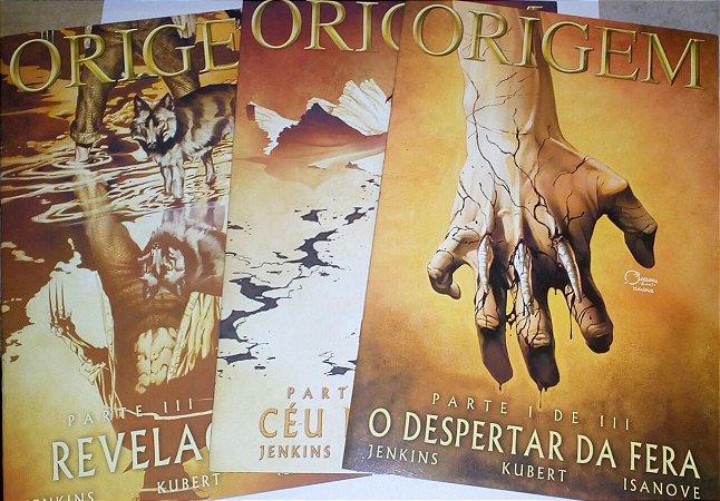 Origem - Série completa - 3 volumes Wolverine