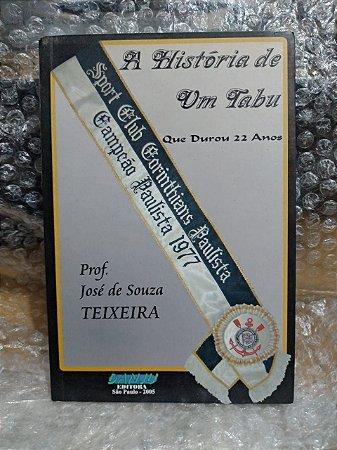 A História de um Tabu que Durou 22 Anos - Prof. José de Souza Teixeira
