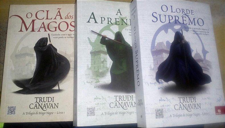 Trilogia do Mago Negro - Trudi Canavan - 3 livros