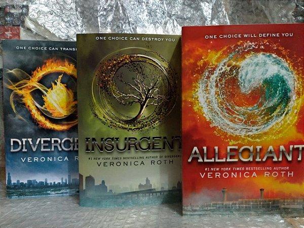 Box Series Divergent - Veronica Roth C/3 livros