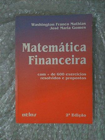 Matemática Financeira - Washington Franco Mathias 2  edição