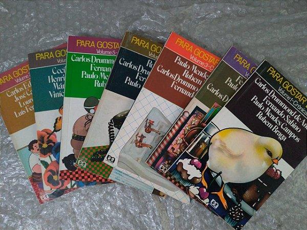 Coleção Para Gostar de ler - Volumes do 1 ao 7