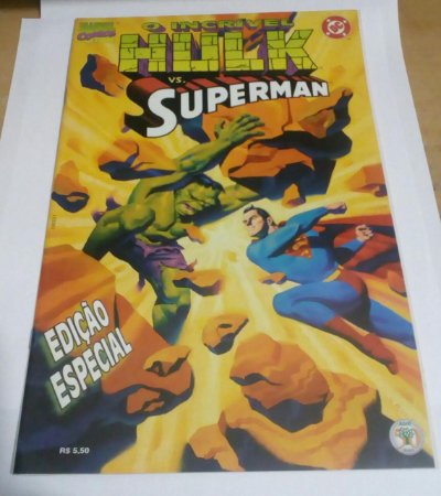 O incrível Hulk Vs. Superman - Edição Especial