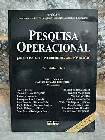 Pesquisa Operacional - Luiz J. Corrar e Carlos Renato Theóphilo