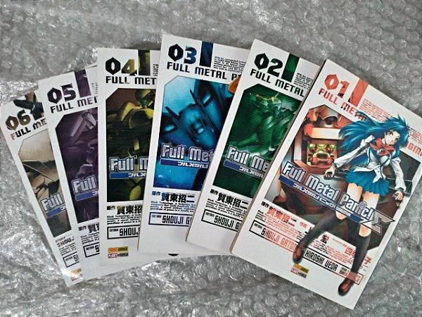 Coleção Fulll Metal Panic! - Shouji Gatou C/6 volumes