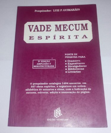Vade Mecum espírita - Luiz P. Guimarães