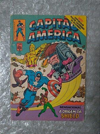 Capitão América Nº 18 - Sensacional a origem da Shield