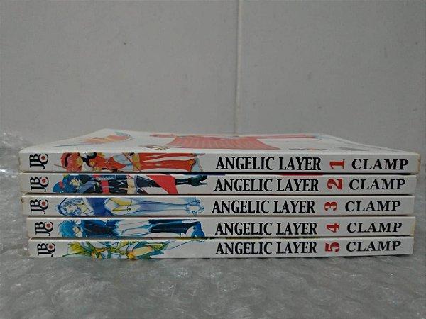 Coleção Angelic Layer - Clamp C/5 Volumes