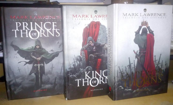 Trilogia dos espinhos - Mark Lawrence - Darkside