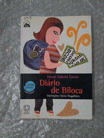 Diário de Biloca - Edson Gabriel Garcia (pequena danificação)