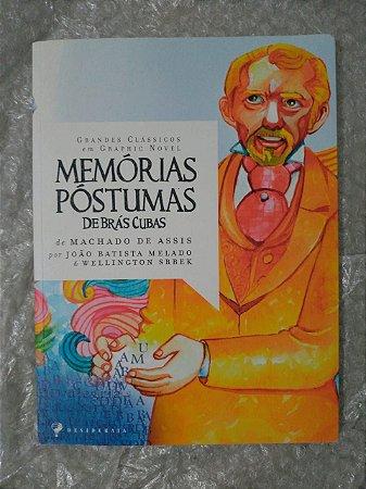 Memórias Póstumas de Brás Cubas - Machado de Assis - em quadrinhos