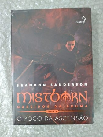 MistBorn 2: O Poço da Ascensão - Brandon Sanderson  *Lacrado*
