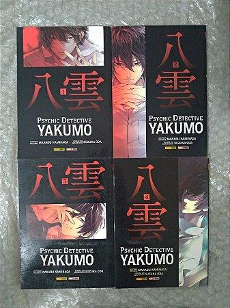 Coleção Psychic Detective Yakumo - Manabu Kaminaga C/4 volumes