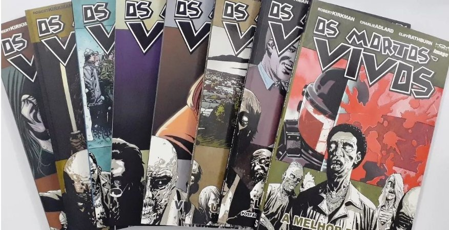 Coleção os Mortos-Vivos Walking Dead - HQ's - Robert Kirkman