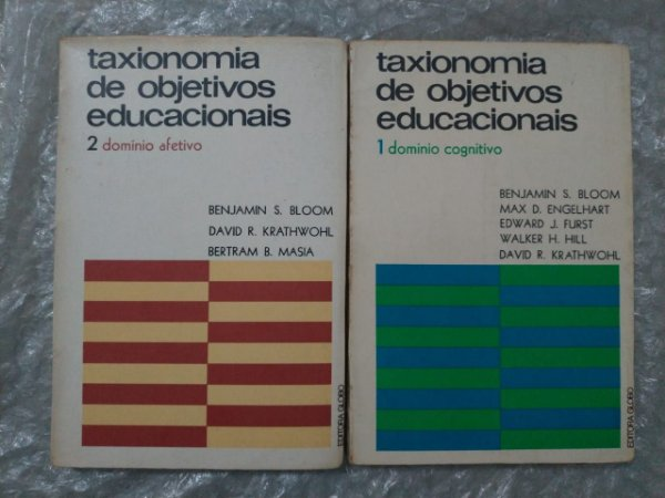 Taxionomia de Objetivos Educacionais - Benjamin S. Bloom (Vols. 1 e 2)