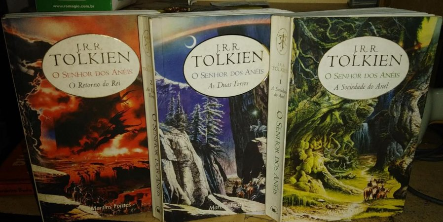 Trilogia O Senhor dos Anéis - J. R. R. Tolkien