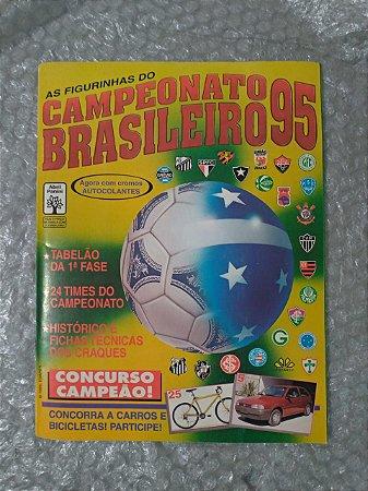 Álbum de Figurinhas  - Campeonato Brasileiro 95 - Completo