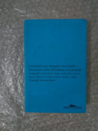 Assunto Encerrado - Italo Calvino