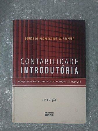 Contabilidade Introdutória - Equipe de Professores da Fea/Usp (marcas de uso)