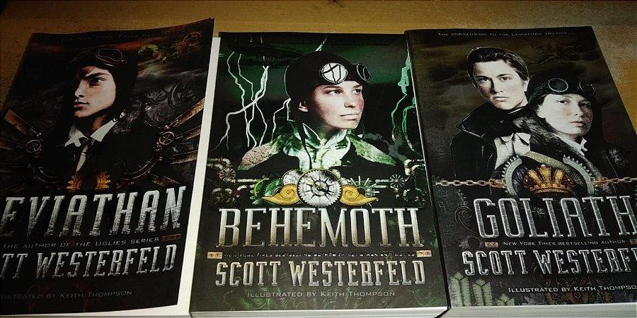 Trilogia Leviathan - Scott Westerfeld - Keith Thompson - Em inglês