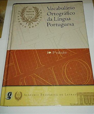 Vocabulário ortográfico da língua portuguesa - Academia Brasileira de Letras