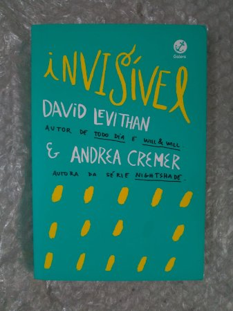 Invisível - David Levithan e Andrea Cremer