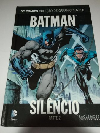 Batman - Silêncio Parte 2 - DC Comics - Graphic Novels