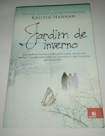 Jardim de inverno - Kristin Hannah (marcas e manchas)