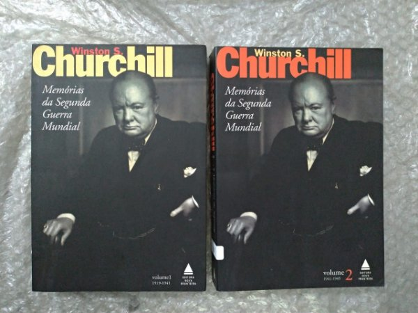 As Memórias da Segunda Guerra Mundial - Winston S. Churchill ( Volumes 1 e 2)