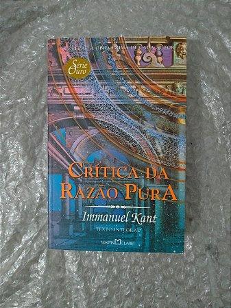 Crítica da Razão Pura - Immaniel Kant