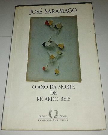 O ano da morte de Ricardo Reis - José Saramago (marcas de uso)