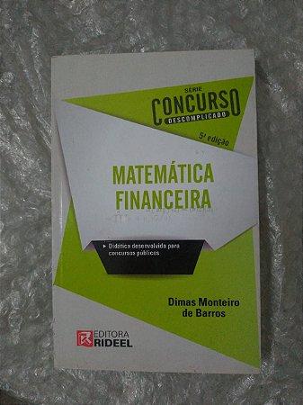 Matemática Financeira - Dimas Monteiro de Barros