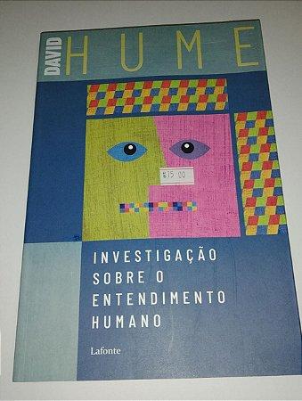 Investigação sobre o entendimento humano - David Hume