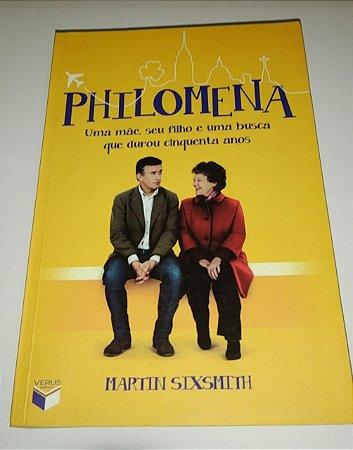 Philomena - Martin Sixsmith - Uma mãe, seu filho e uma busca que durou cinquenta anos (capa do filme)