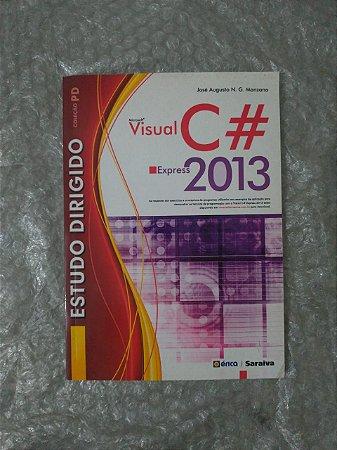 Estudo Dirigido de Microsoft Visual C# Express 2013 - José Augusto N. G. Manzano