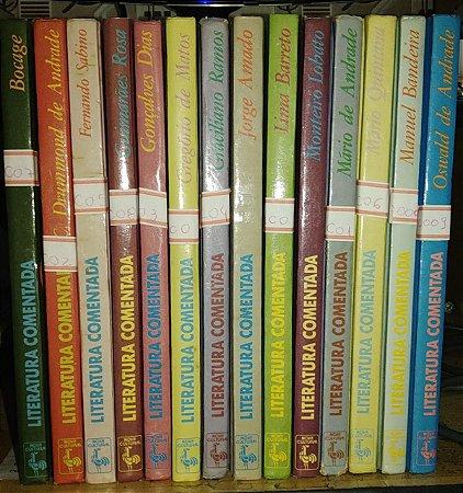 Coleção Literatura Comentada - Ed. Nova Cultural - 14 volumes