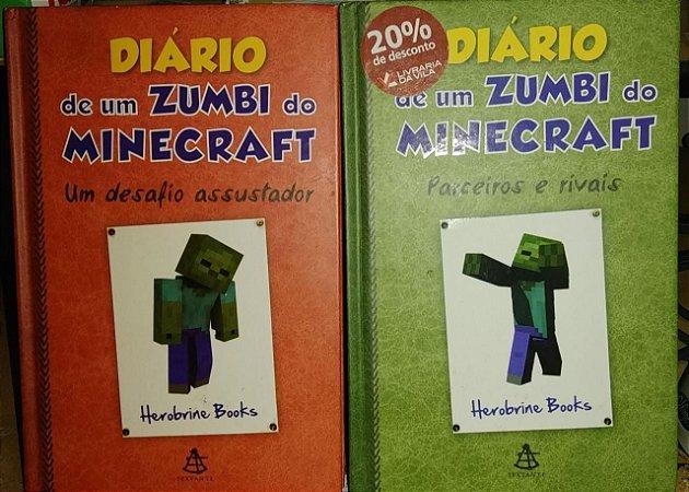 Diário de um Zumbi do Minecfrat - vol. 1 e 2 - Herobrine Books