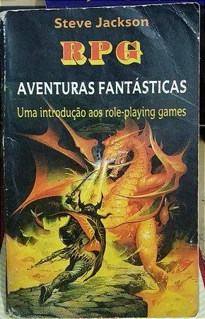 RPG Aventuras Fantásticas - Steve Jackson (marcas)