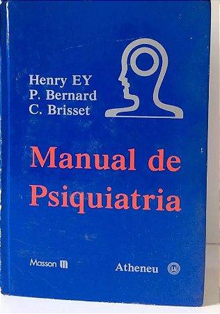 Manual de Psiquiatria - Henry EY
