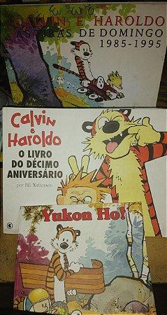 Kit Calvin e Haroldo - 3 volumes