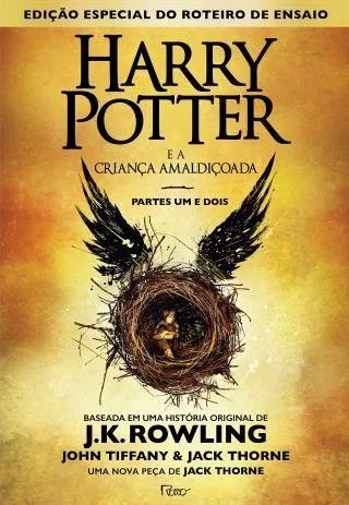 Livro - Harry Potter e a criança amaldiçoada - Parte um e dois - J. K. Rowling